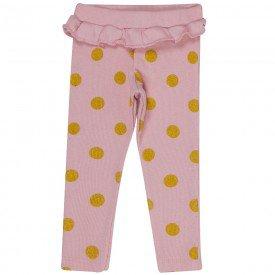 calca bebe feminina poa glitter rosa cha 182001 7663
