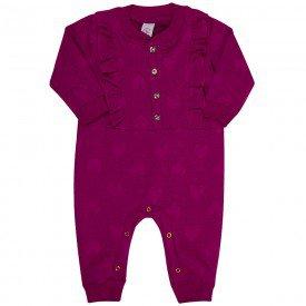 macacao bebe feminino matelasse love fancy 182002 7666