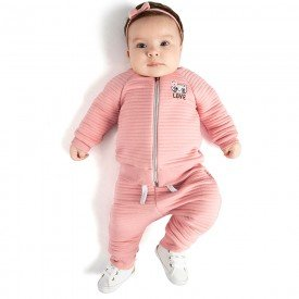 conjunto infanitil bebe menina 0072 8040