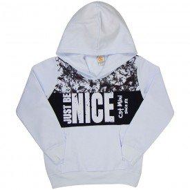 blusao infantil menino marmorizado branco preto 5010 7817