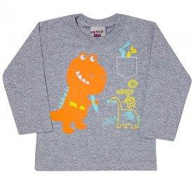 camiseta dinossauro bebe menino 7053