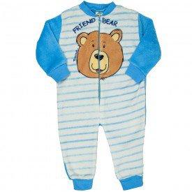 macacao infantil masculino amigo urso azul 11474 8268