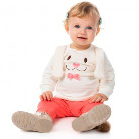 conjunto infantil bebe menina 11385 8252