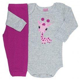 conjunto body mescla girafinha e calca pink 1531 8237
