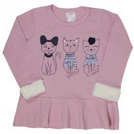 blusa infantil feminina 6490