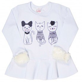 blusa infantil feminina 6489