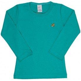camisa manga longa vermelha cotton infantil 7741 4001 2