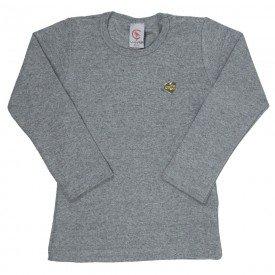 camisa manga longa vermelha cotton infantil 7742 4001