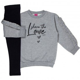 conjunto infantil feminino share the love 8059 1207