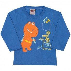 camiseta dinossauro bebe menino 7054