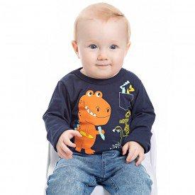 camiseta dinossauro bebe menino 7052