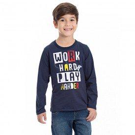 camiseta infantil masculina 7118