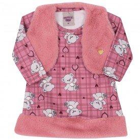 vestido infantil bebe menina 6908