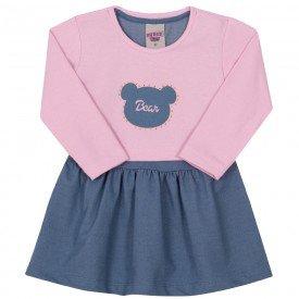 vestido infantil menina 6950