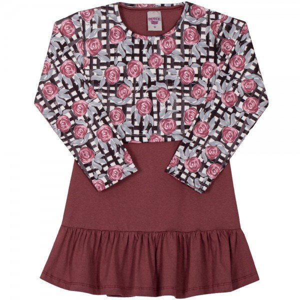 vestido infantil menina 6988