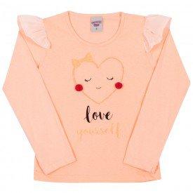 blusa infantil menina 7018