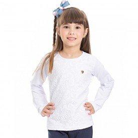 camiseta infantil menina 7022