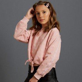 blusao infantil menina matelasse 7865