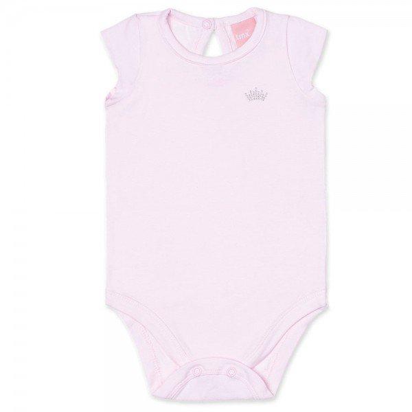 body bebe feminino manga copinho cotton rosa claro 9001 7330