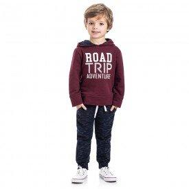 conjunto infantil menino road trip vinho marinho 5310 8156