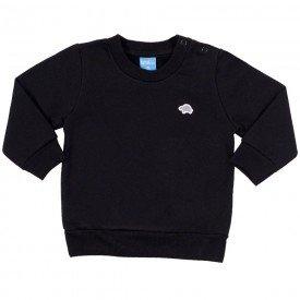 blusa bebe masculina moletom marinho 9406 7381