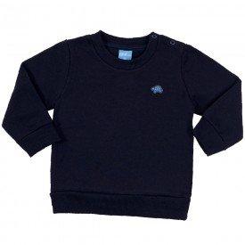 blusa bebe masculina moletom marinho 9406 7381 1
