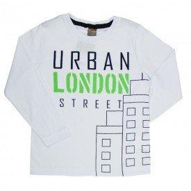camiseta infantil masculina meia malha break rules branco mk675 7614