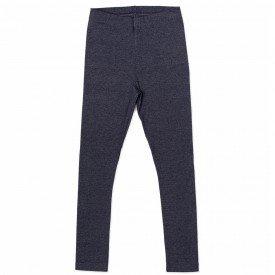 legging infantil feminina cotton mescla chumbo 9106 7355
