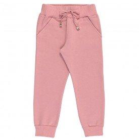 calca infantil feminina jogger moletom blush 9108 7361