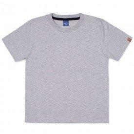 camiseta infantil masculina manga curta meia malha mescla 9501 7389