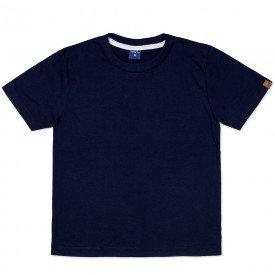 camiseta infantil masculina manga curta meia malha marinho 9501 7388