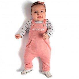 jardineira bebe menina 0073 8045