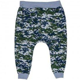 calca saruel infantil masculina camuflada verde e azul 1591 8511