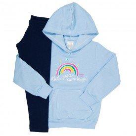 conjunto de abrigo menina 8425