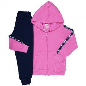 conjunto de abrigo menina 8476