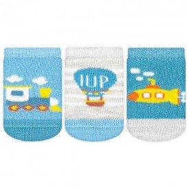 meia bebe kit 3 pecas iup k2214 008 6376