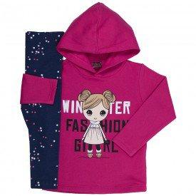 conjunto infantil menina winter pink marinho mk163 7503