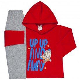 abrigo de frio infantil com capuz 1103 k 1106