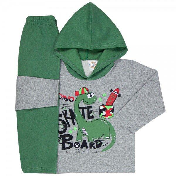 abrigo de frio infantil com capuz 1105 k 1109