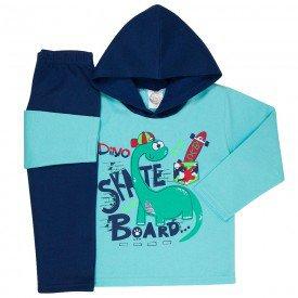 abrigo de frio infantil com capuz 1105 k 1111