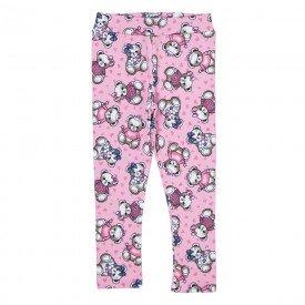 legging infantil feminina molecotton urso rosa 38016 8544