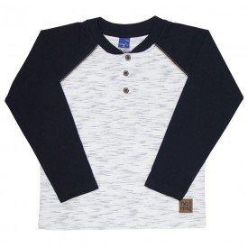 camiseta infantil masculina meia malha jet off white preto 6315 8225