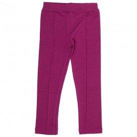 legging infantil feminina molecotton basica cereja 9515 8543