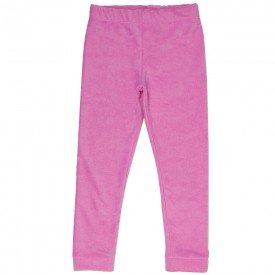 legging infantil feminina atoalhada basica rosa f10271 8309