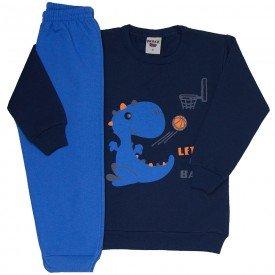 conjunto infantil masculino moletom marinho e calca azul palacio 4165d 8315