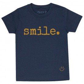 t shirt infantil unissex chumbo smile mostarda c 02 03 01