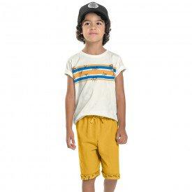 conjunto infantil masculino sun off white mostarda 104418 8861