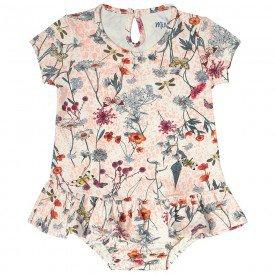 vestido bebe menina floral rosa com calcinha 104321 8800 2