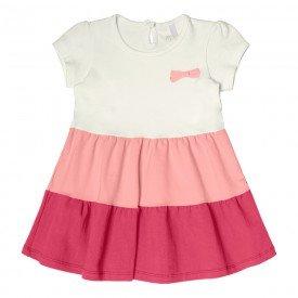 vestido bebe menina off white 104325 8802