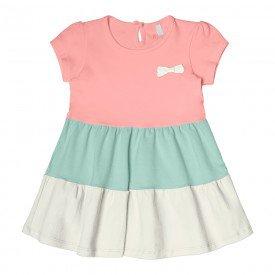 vestido bebe menina rosa claro 104325 8803